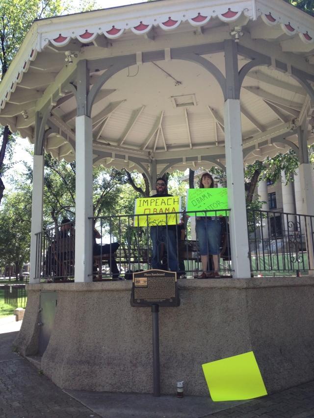 Impeach Obama Protest - Prescott, AZ
